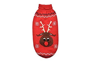 Ancol Christmas Reindeer Dog Sweater