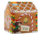 Good Boy Gingerbread House Dog Treat and Toy Set