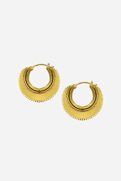 Half Moon Earrings Goldplated