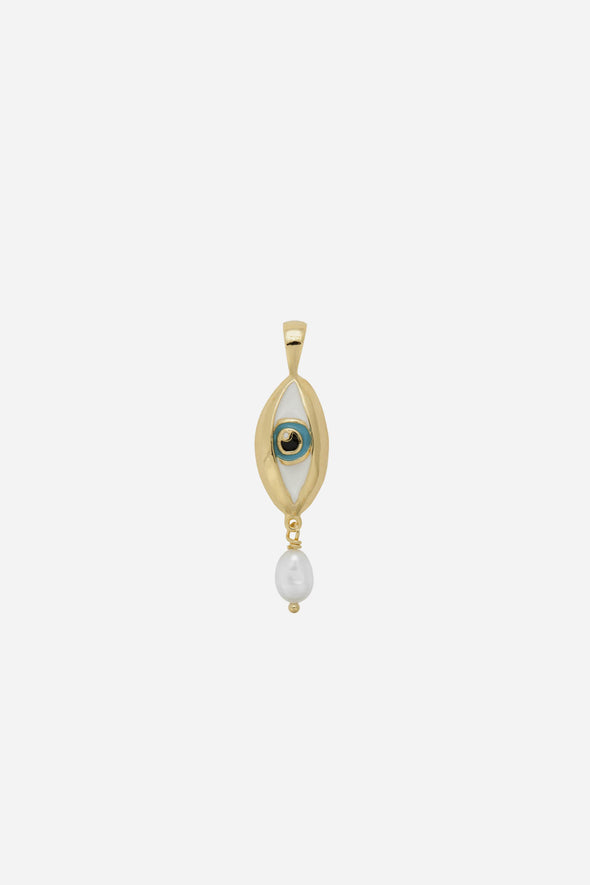 Teardrop Necklace Charm
