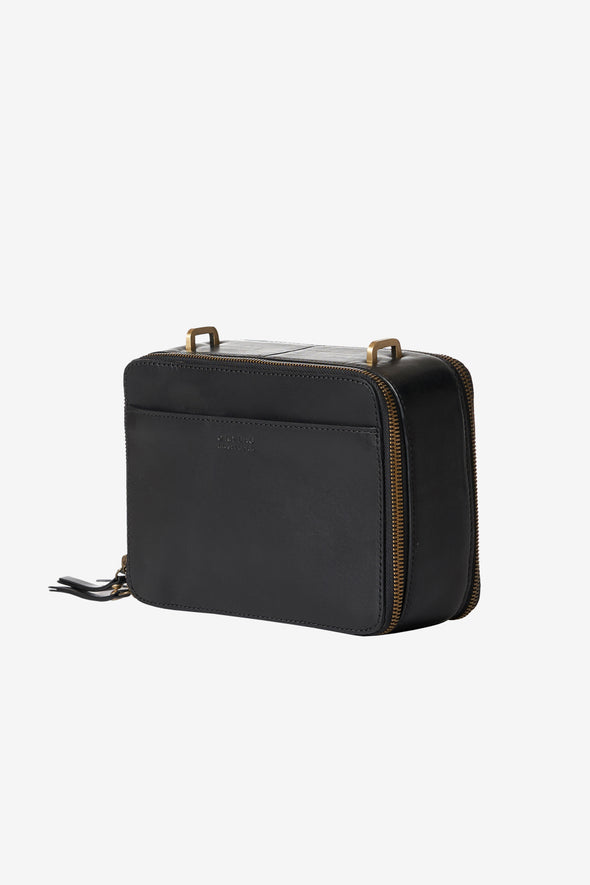 Bee's Box Black Classic Leather