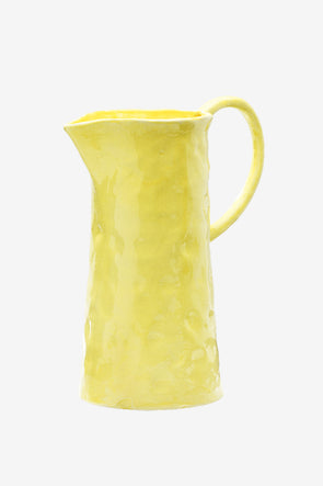 Carafe Lemonade Yellow - Anna + Nina - Yellow carafe height: 28cm