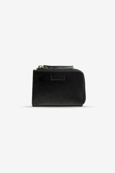 Coco Coin Purse Black Classic Leather