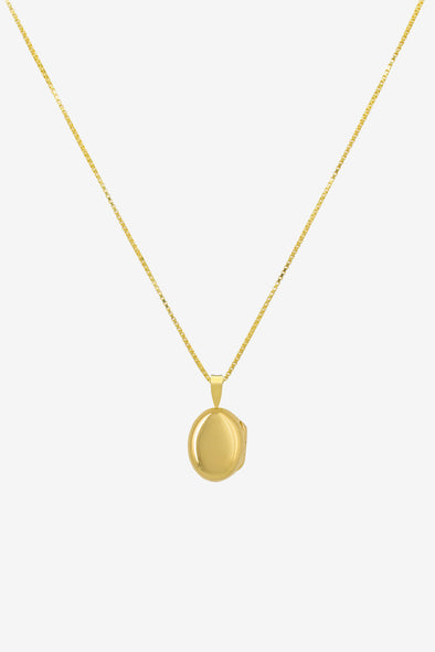 Locket Necklace Goldplated