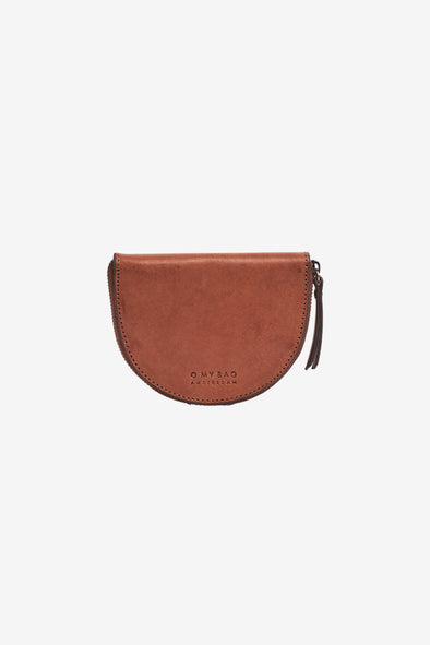 Laura Purse Cognac Classic Leather