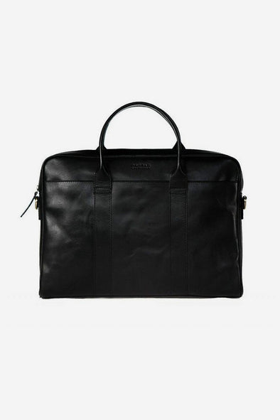 The Harvey Black Classic Leather