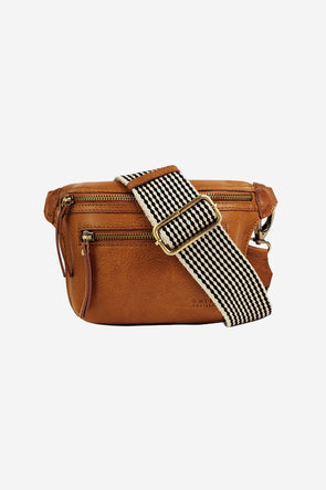 Beck's Bum Bag Cognac Stromboli Leather