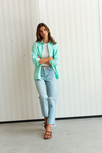 Gemino Ikat Bag - Sessùn - Colorful spring pattern bag