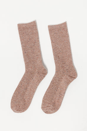 Le Bon Shoppe Snow Socks Mauve