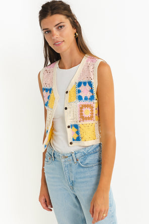 Elly Blouse Goldchecks