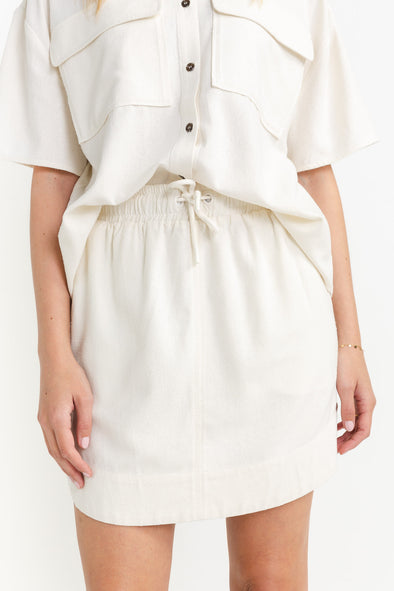 Rayes Skirt Offwhite