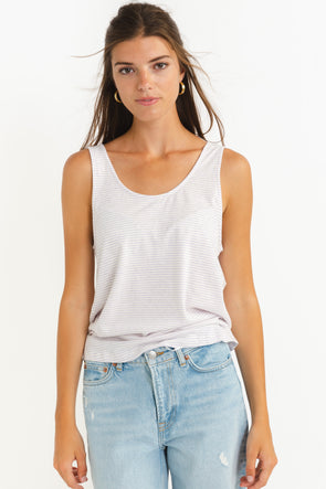 Ambroggio Blouse Orchid - Sessùn - Lilac blouse v-neck button closure