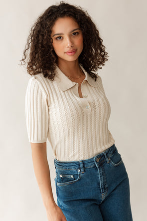 Donna Leather Sneaker White