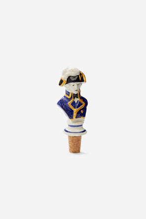 Jacques Louis Bottle Stopper - Anna + Nina - Ceramic bottle stopper 14cm