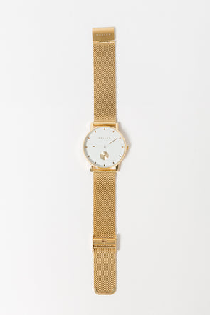Maori Watch All gold - Meller - gold white watch quartz gold strap