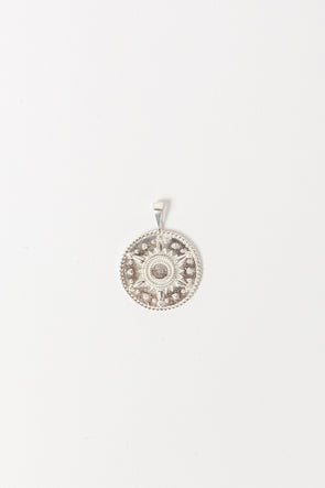 Cairo Necklace Charm Silver