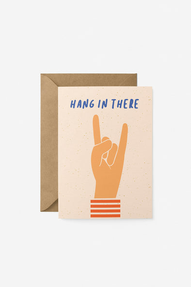 Hang In There Card Graphic Factory