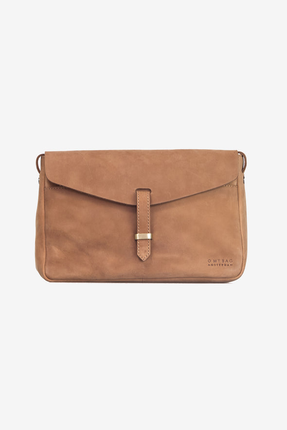 Ally Bag Maxi Camel Hunter Leather