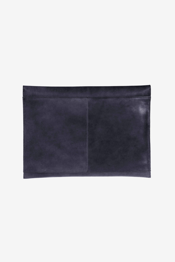 "Envelope Laptop Sleeve 13"" Navy - O My Bag - Navy laptop sleeve magnetic closure"