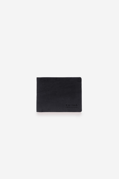 Joshua's Wallet Black Classic Leather