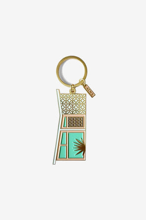 Palm Springs Keychain