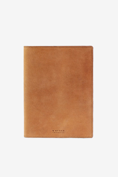 Notebook Cover Hunter Leather Camel - O My Bag