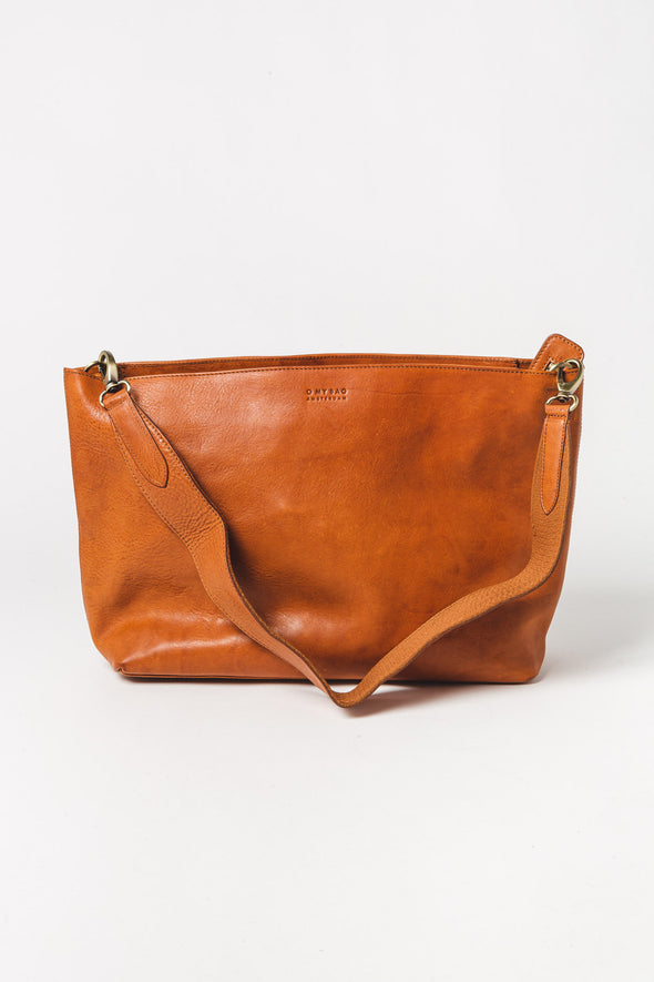 Olivia Bag Cognac Stromboli Leather