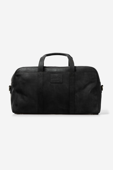 Otis Weekender Black Hunter Leather