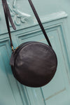 Luna Bag Black Soft Grain Leather