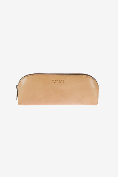 Pencil Case Large Natural Classic Leather