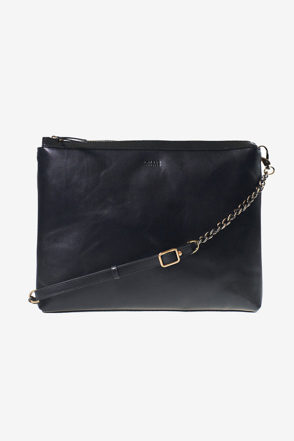Scarlet Bag Black Classic Leather