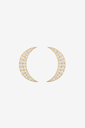 Nightlife Earrings Brass Goldplated