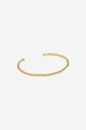 Rope Cuff Goldplated