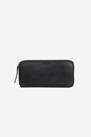 Sonny Long Zip Around Wallet Black Stromboli