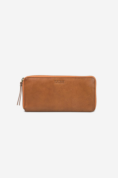Sonny Long Zip Around Wallet Cognac Stromboli