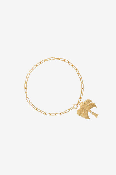 Twinkling Palm Bracelet Silver Goldplated Anna Nina Jewellery