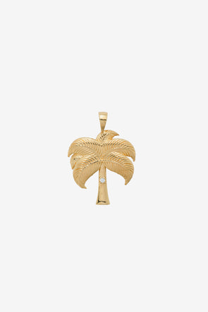 Twinkling Palm Necklace Charm Silver Goldplated Anna Nina Jewellery