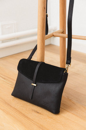 Ella Bag Midi Midnight Black