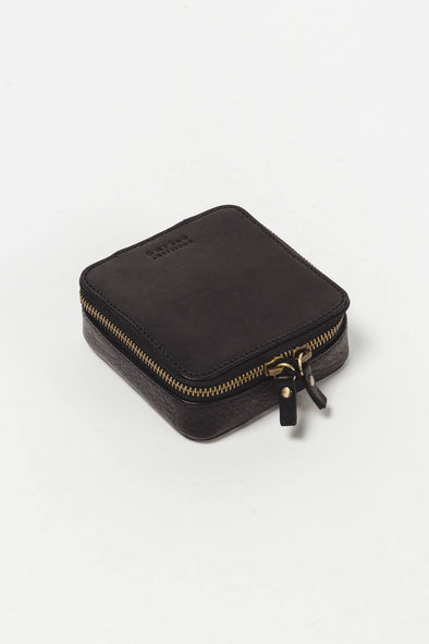 Jewellery Box Black Stromboli Leather - O My Bag