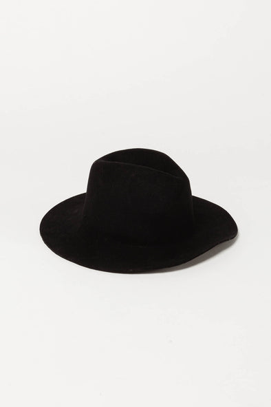 Amy Wool Hat Black