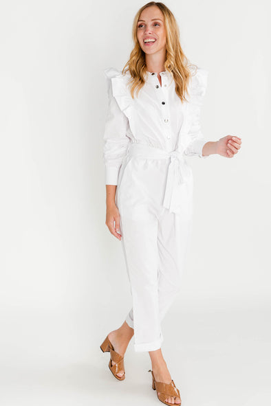 Niela Jumpsuit Bright White