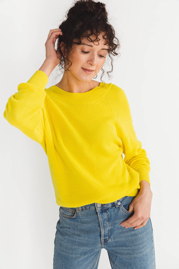 Mai Knit Empire Yellow