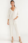 Happy French Gang Jumpsuit Offwhite