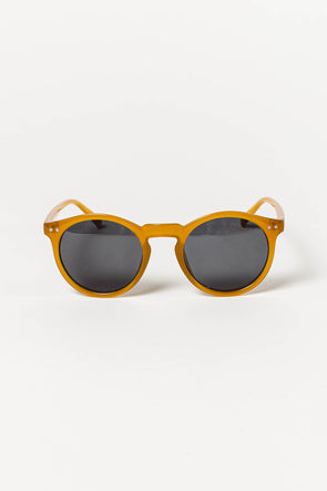 Kribi Amber Carbon Sunnies - Meller - Amber colored sunglasses