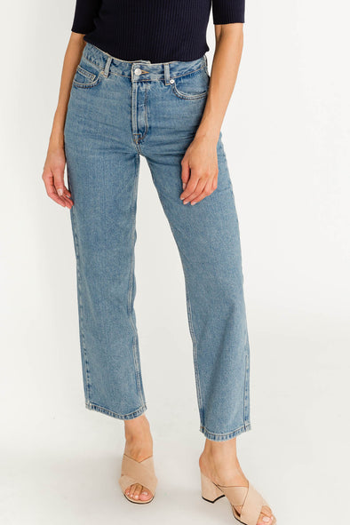 Kate Straight Jeans Rail Blue