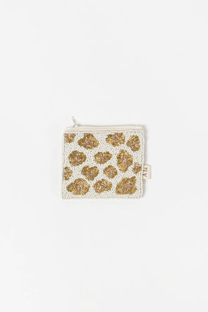 Coin Wallet Leopard Print