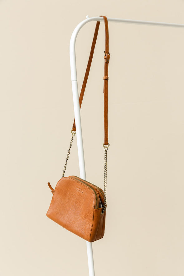 Emily Cognac Stromboli Leather