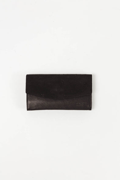 Ella Purse Black Soft Grain Leather