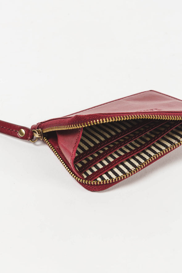 Coin Purse Ruby Classic Leather
