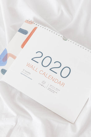 Appointment Wall Calendar 2020